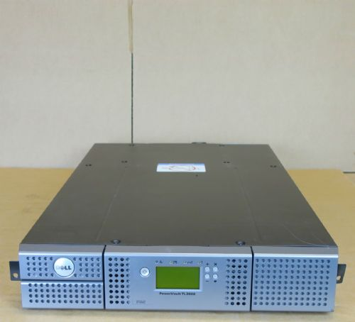 Dell Powervault TL2000 Backup Tape Library LTO-5  SAS Drive 36/72TB